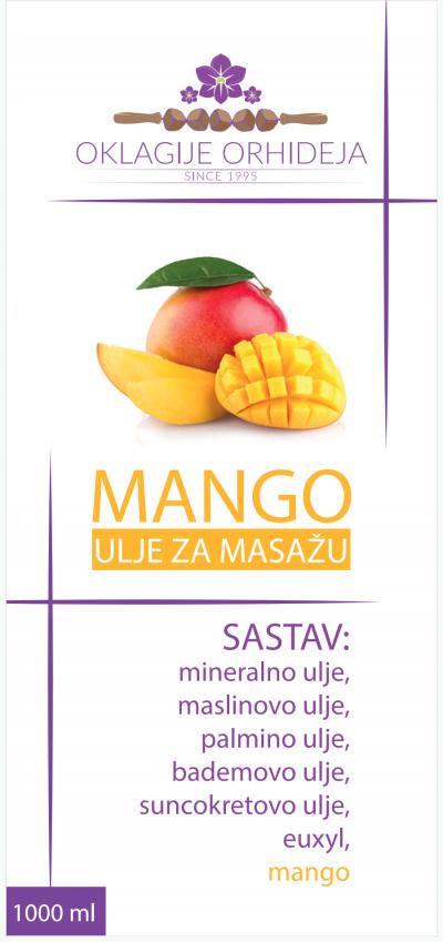 Ulje za masažu MANGO
